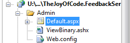 Admin folder with default.aspx and ViewPng.ashx