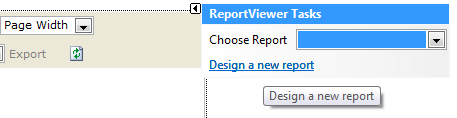 The design a new report function