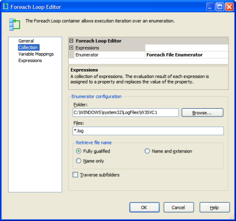 SSIS flow with Compress File Task