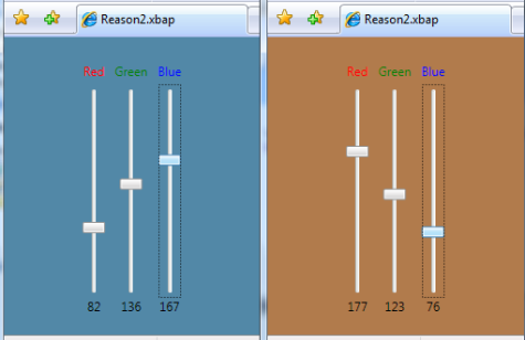 Example 2 - color selector